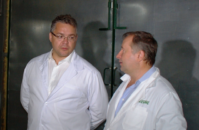 Governor of the Stavropol Territory Has Visited New Poultry Production Unit of Our Company