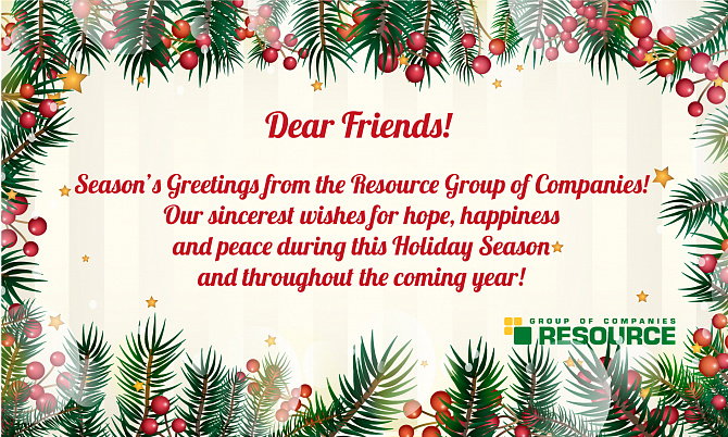 Season's Greetings from the Resource Group of Companies